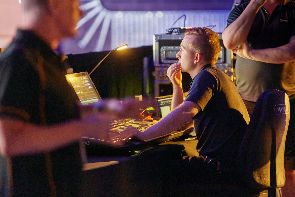 Novatech virtual production demonstration, photo by David Solm
