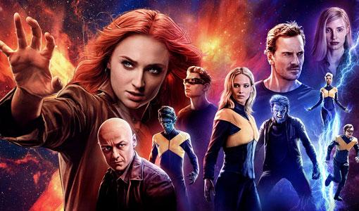 X Men: Dark Phoenix poster art