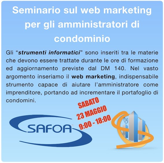 Web marketing per gli amministratori di condominio