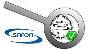 Verifica iscrizione amministratori Safoa