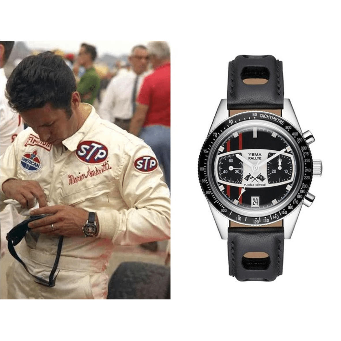Racing Watches: Yema & Mario Andretti