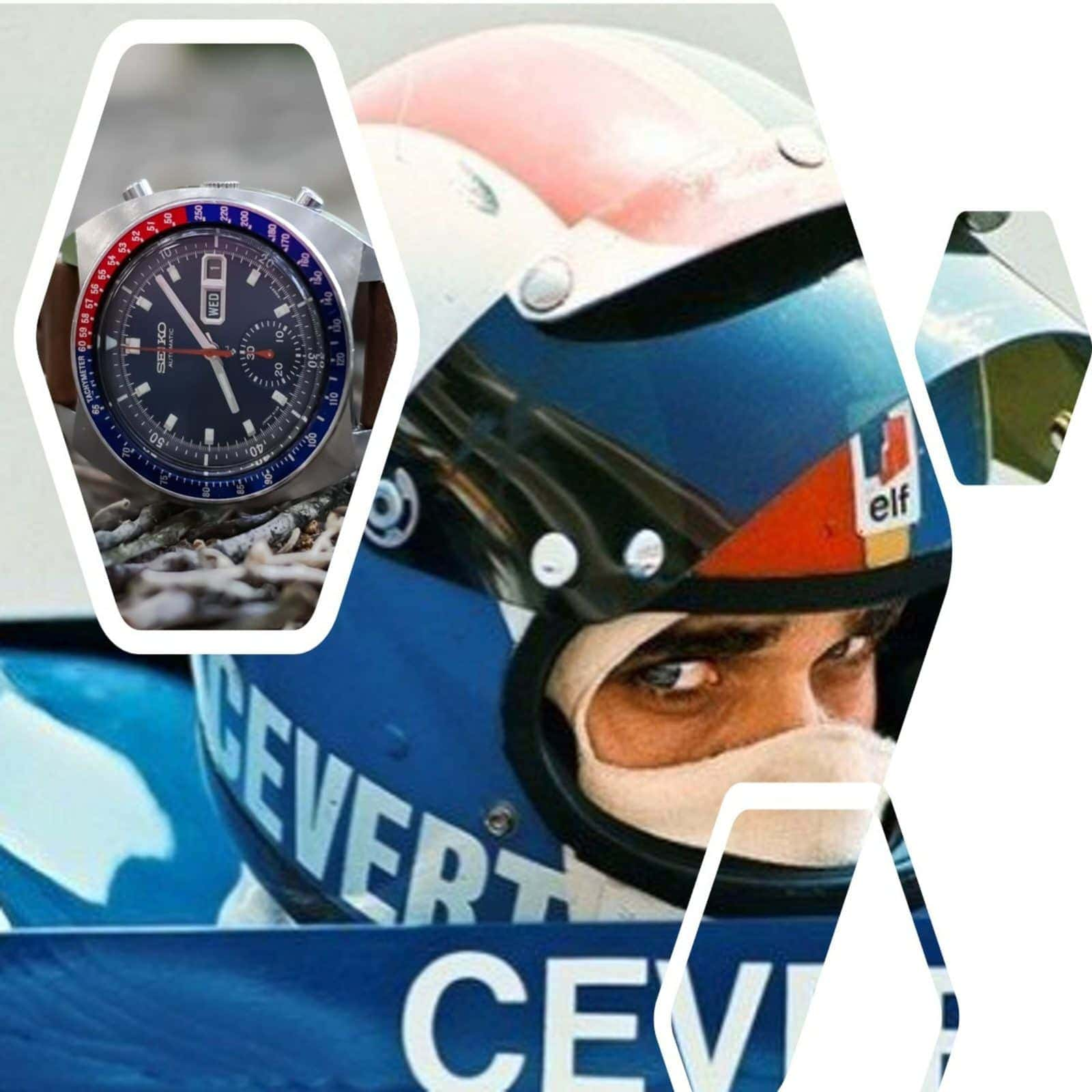 Racing Watches: SEIKO & François Cevert