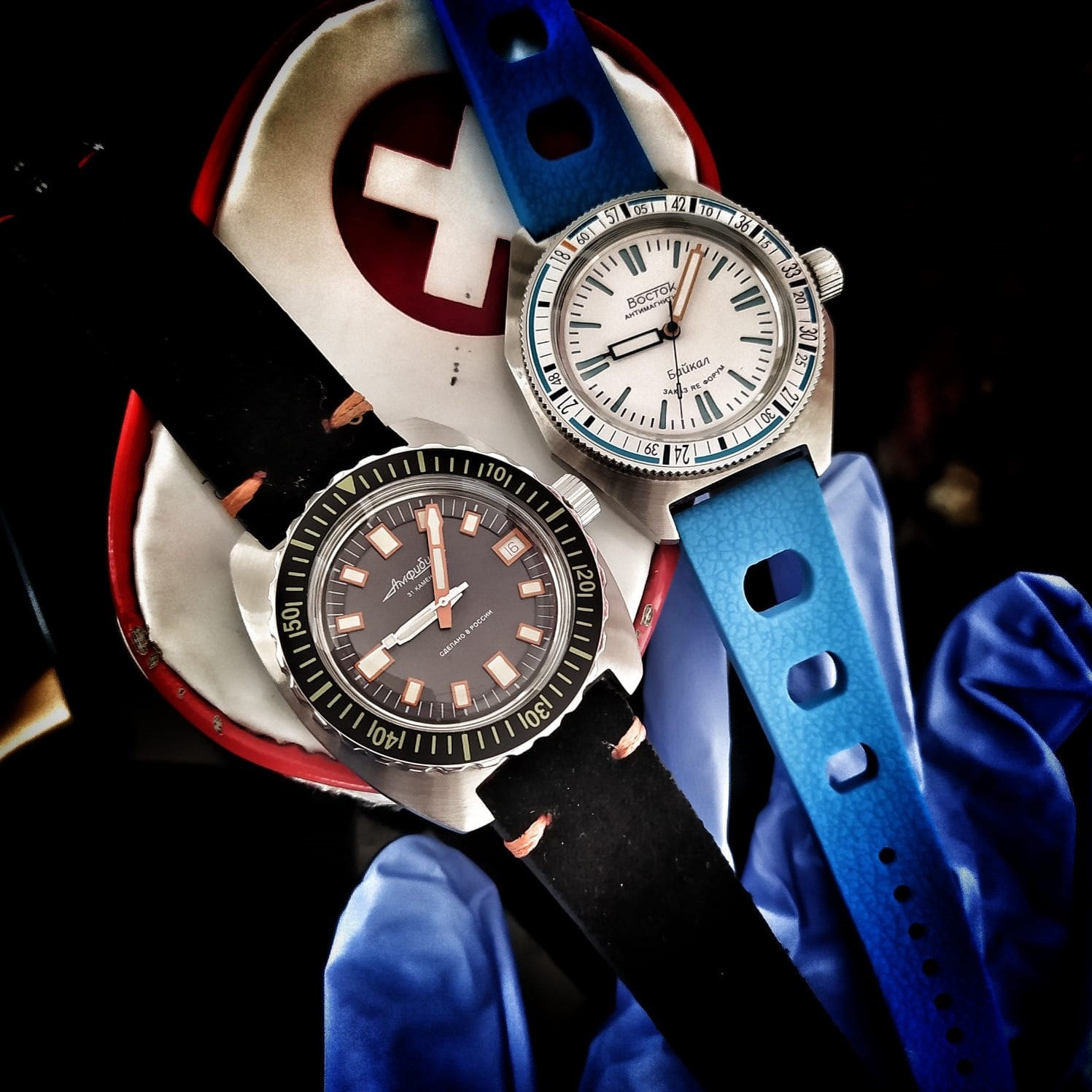 Vostok Russian Diver WUS Project