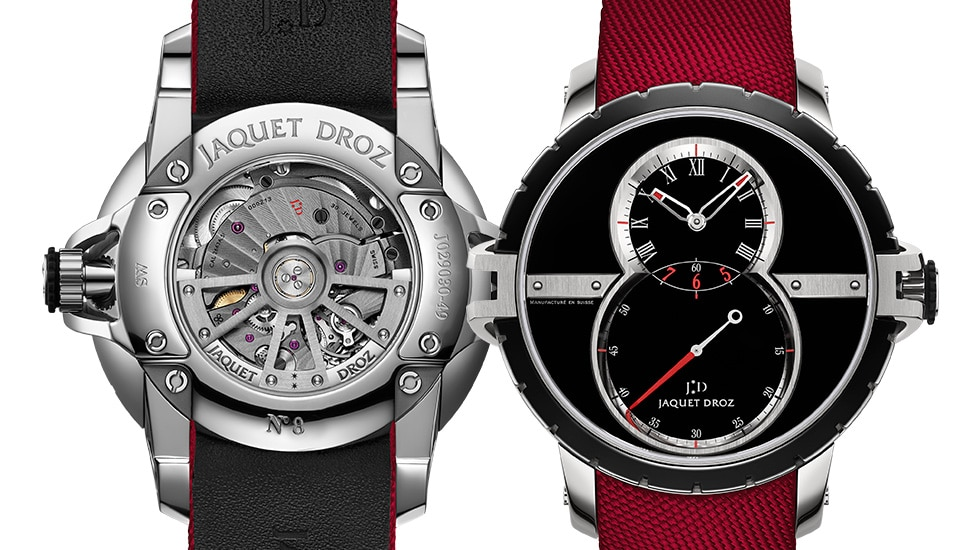 Jaquet Droz Goes For Red With New SW