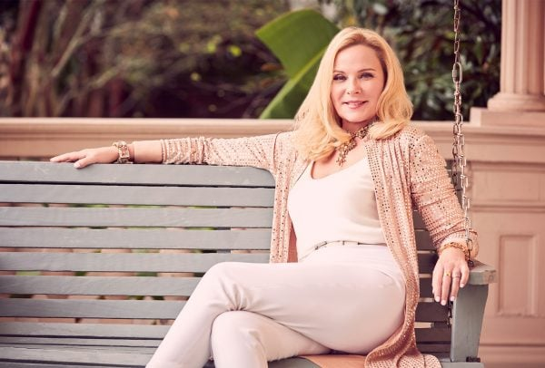 Why KimCattrall loves a classic watch