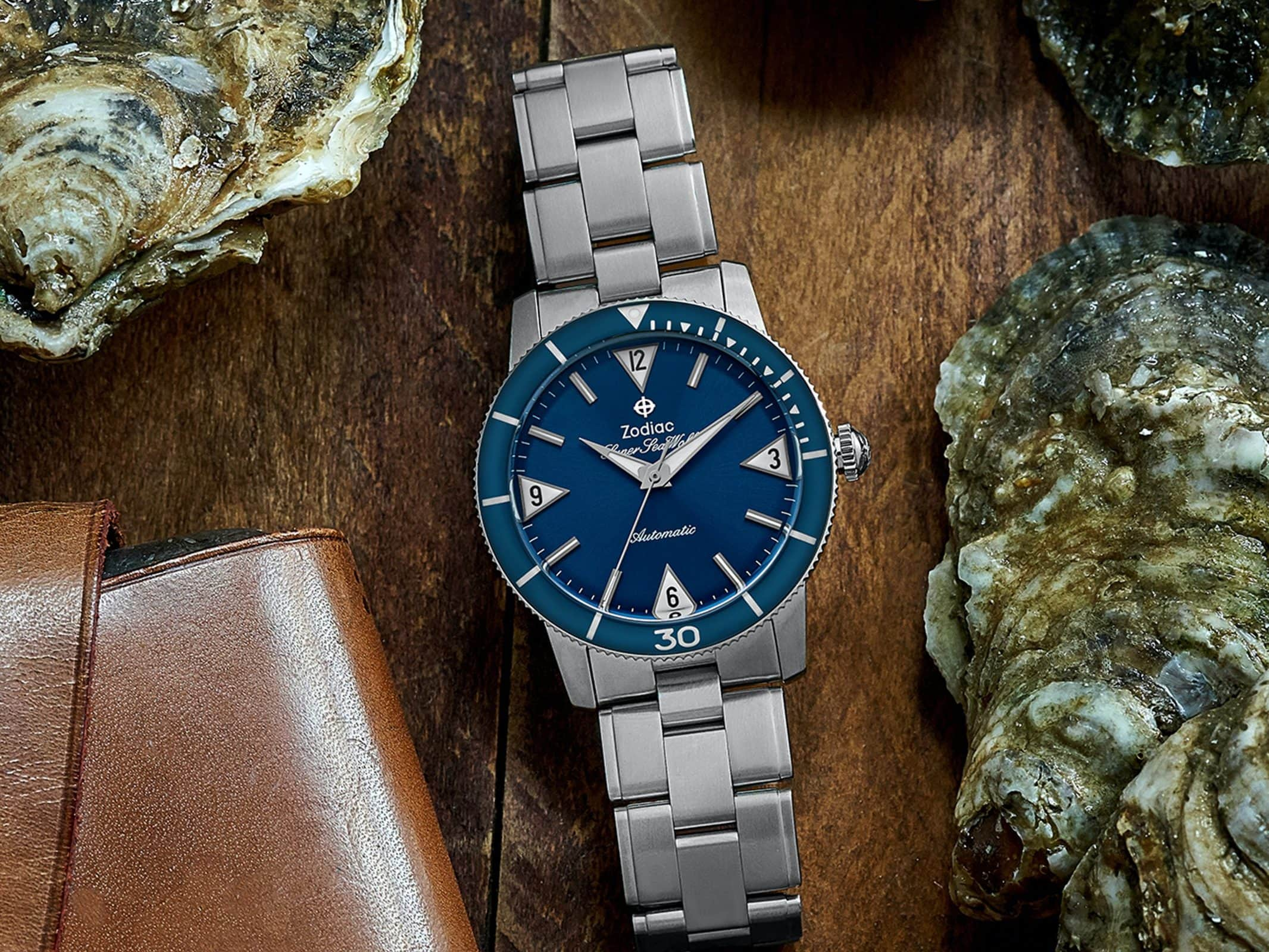 In The Shop – HODINKEE Shop Exclusive: The Zodiac Super Sea Wolf 53 Skin 'Blue'