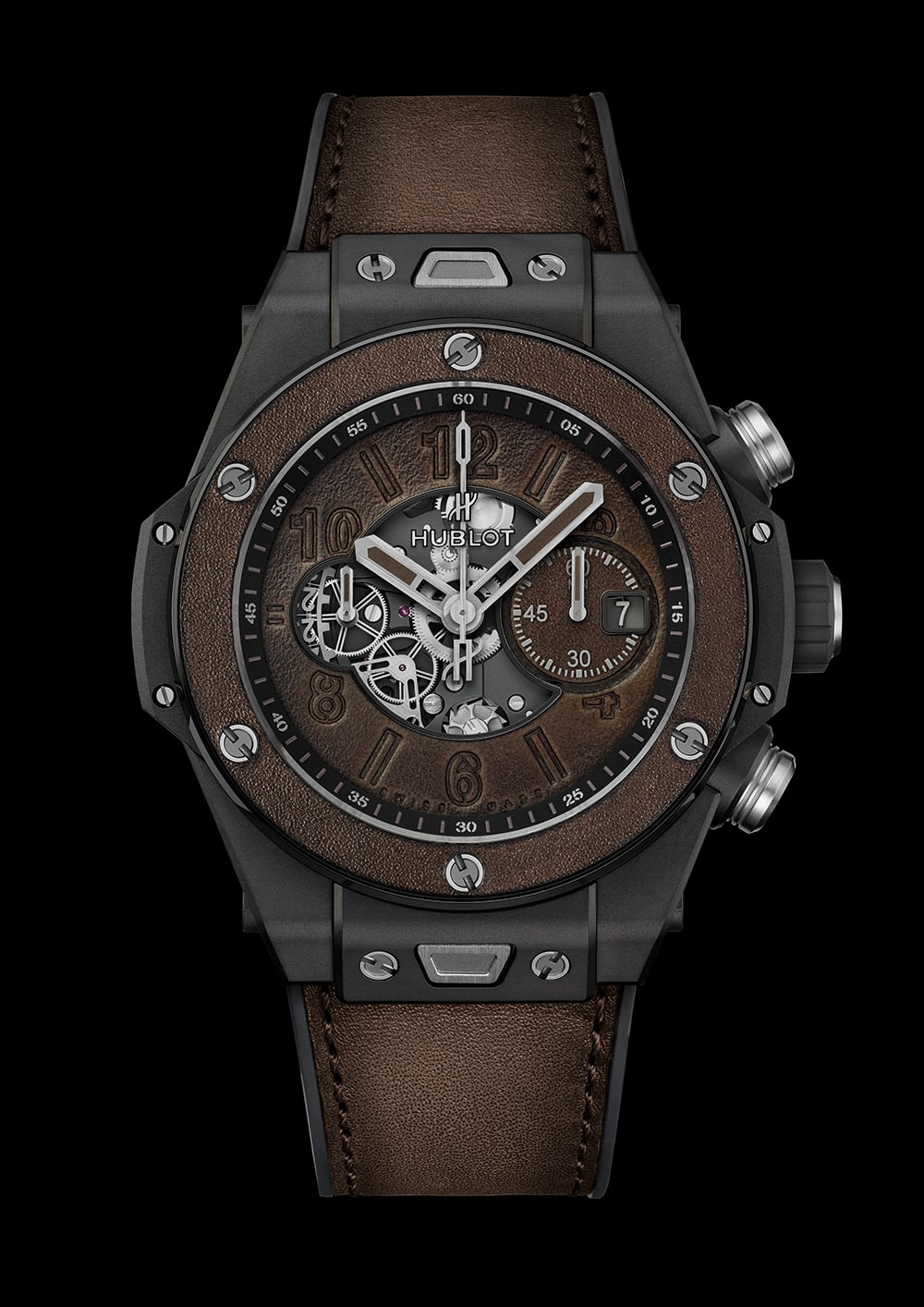 Big Bang Unico Berluti Cold Brown de Hublot