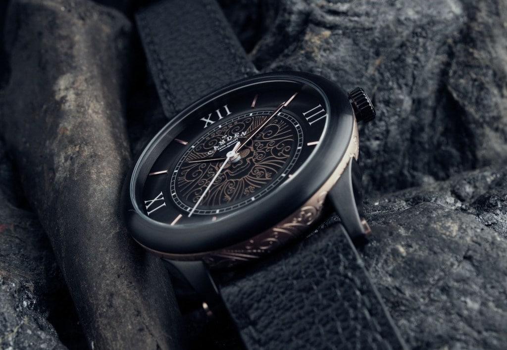 Camden Watch Company No.253 Memento Mori Rose Gold