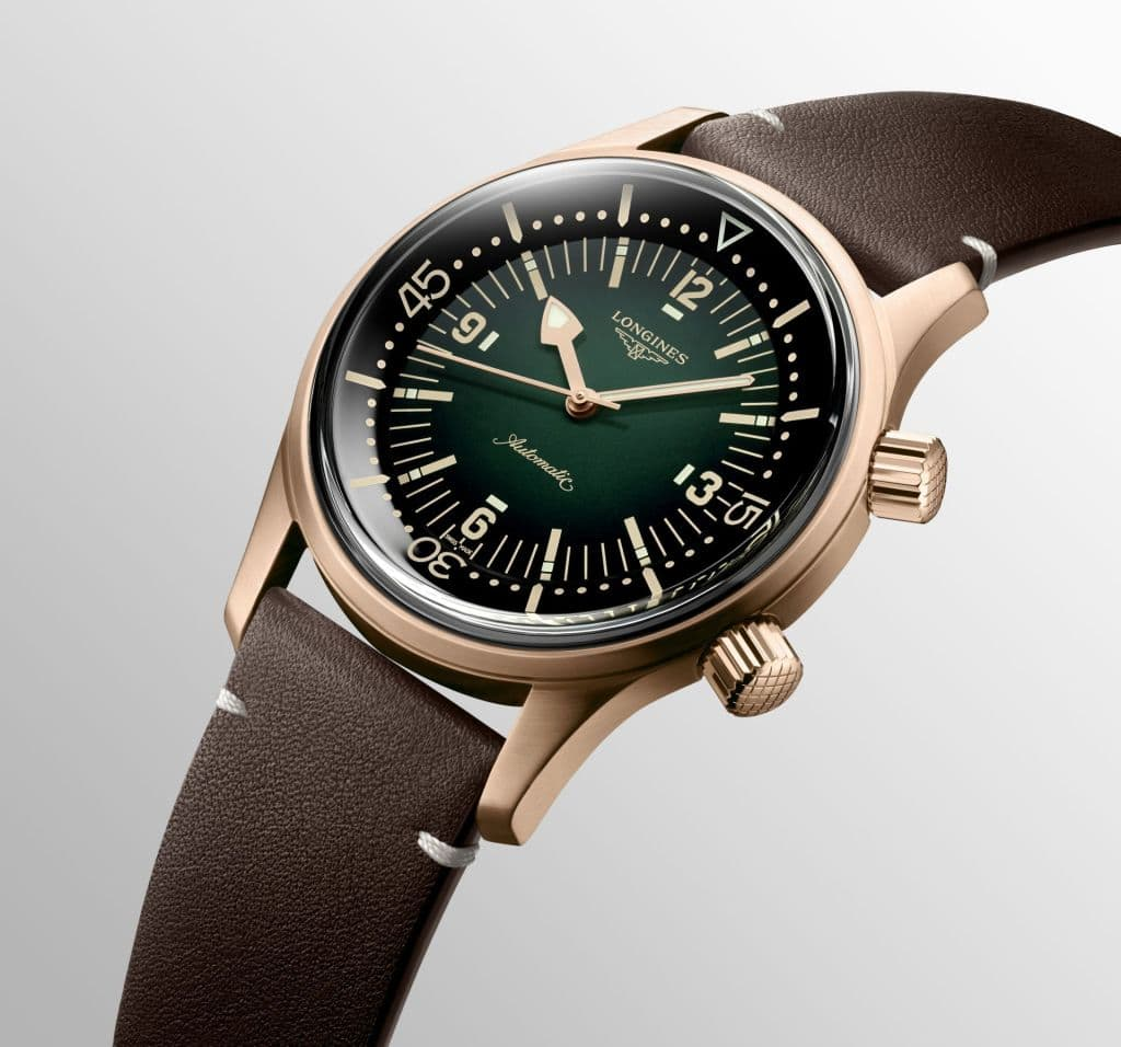 Longines Legend Diver Watch Bronze Version