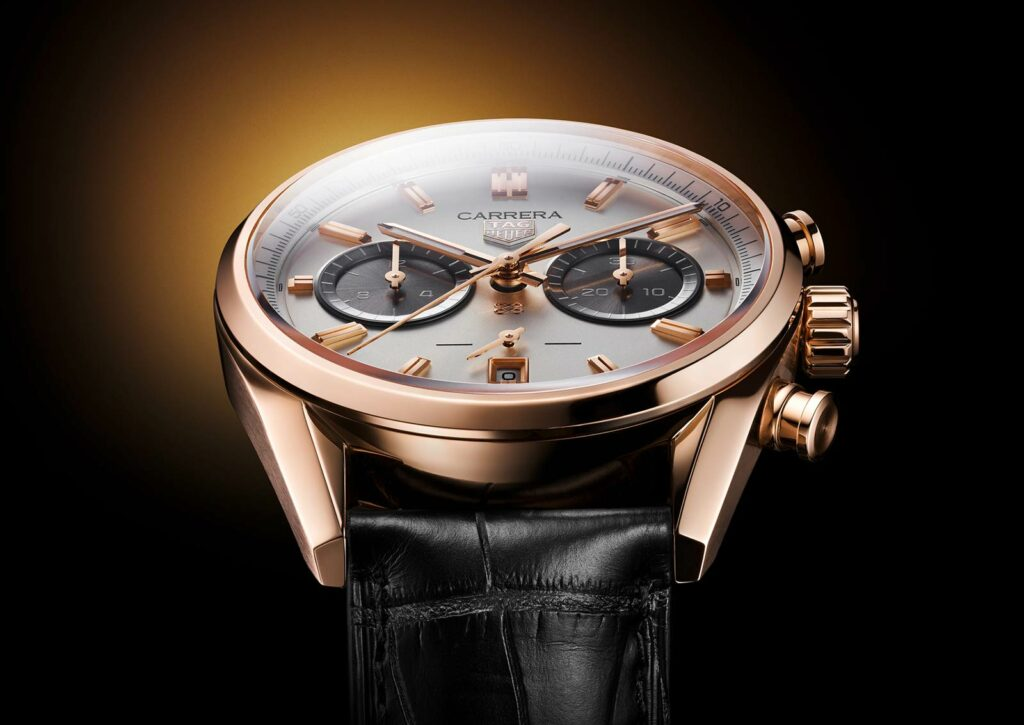 Introducing The TAG Heuer Carrera Chronograph Jack Heuer Birthday Gold Limited Edition Watch