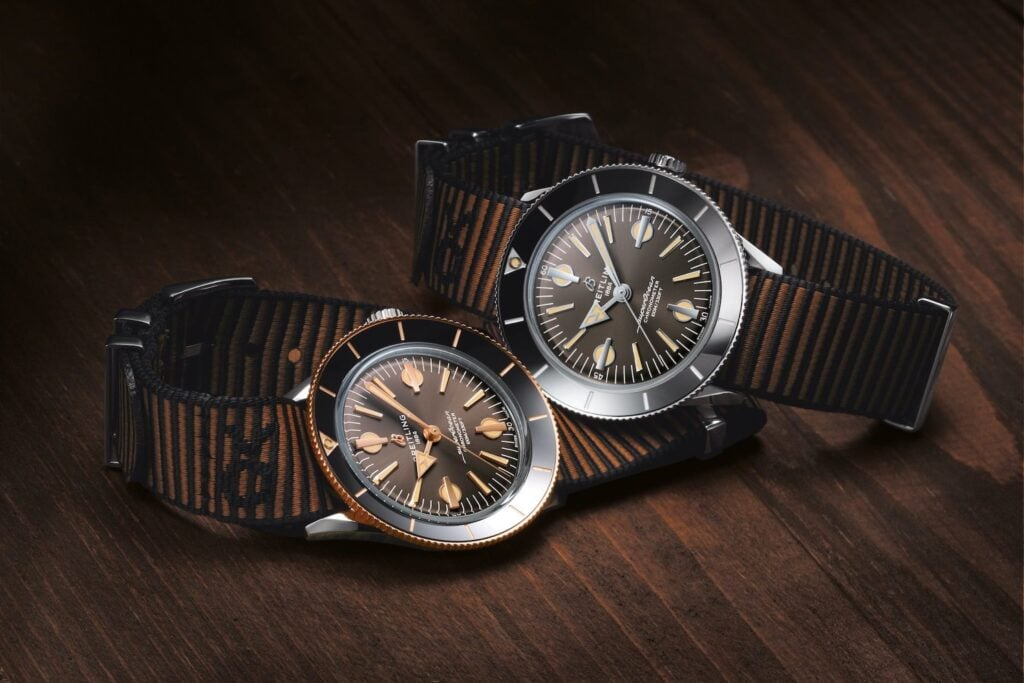 Breitling x Outerknown Superocean Heritage '57 Dive Watches
