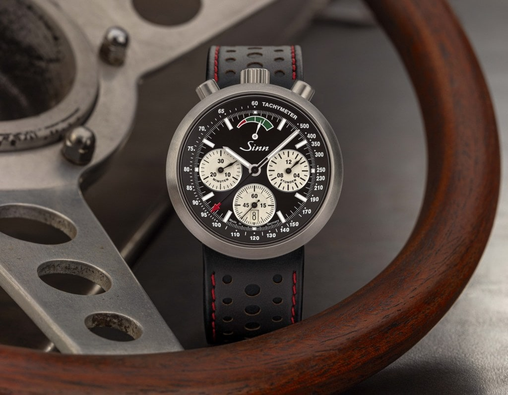 The new Sinn R500 Chronograph LE for its competition is like a bull in a china shop