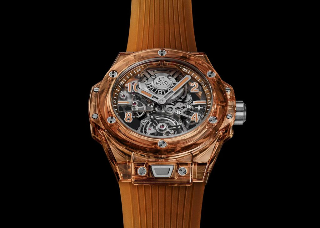 Introducing The Hublot Big Bang Tourbillon Automatic Orange Sapphire Watch