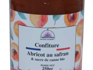 Confiture d'abricots au safran et sucre de canne