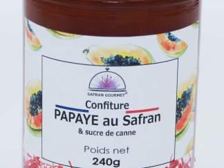 Confitures papaye au safran