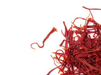Safran épice en filaments