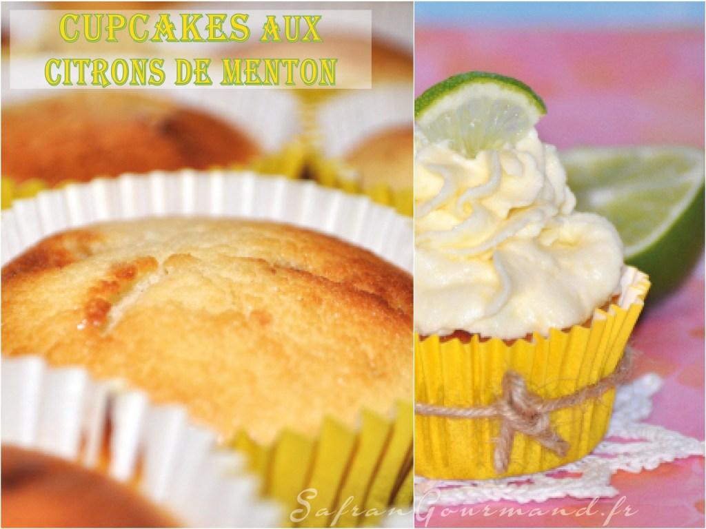 Cupcakes aux Citrons de Menton