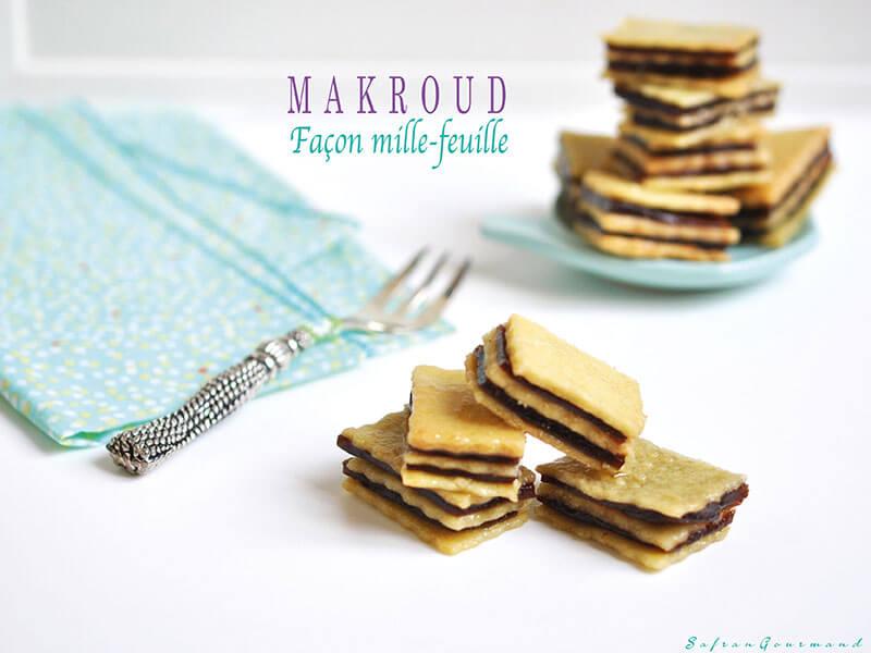 Makroud Façon Mille-Feuille