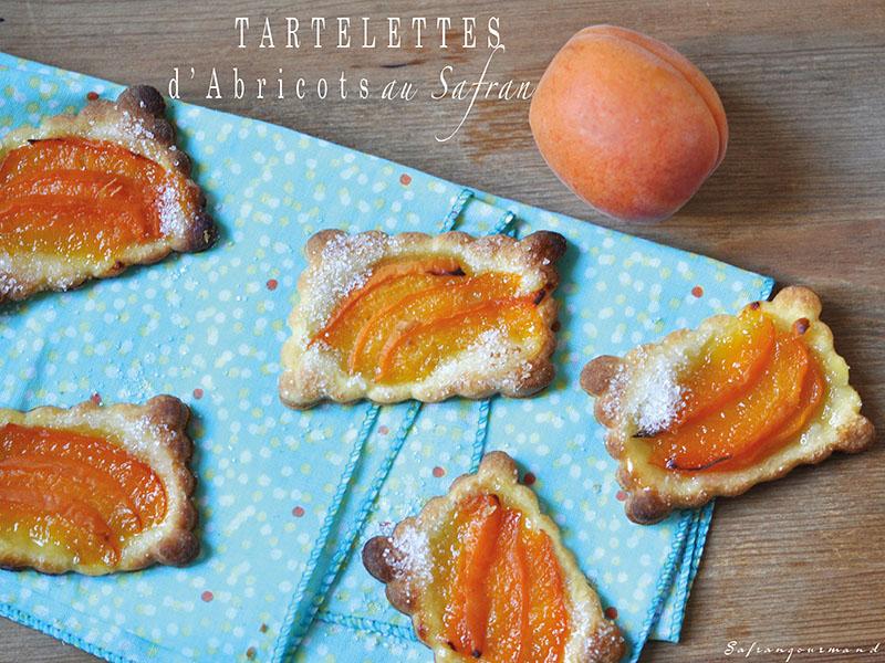 Tartelettes d'Abricots au Safran