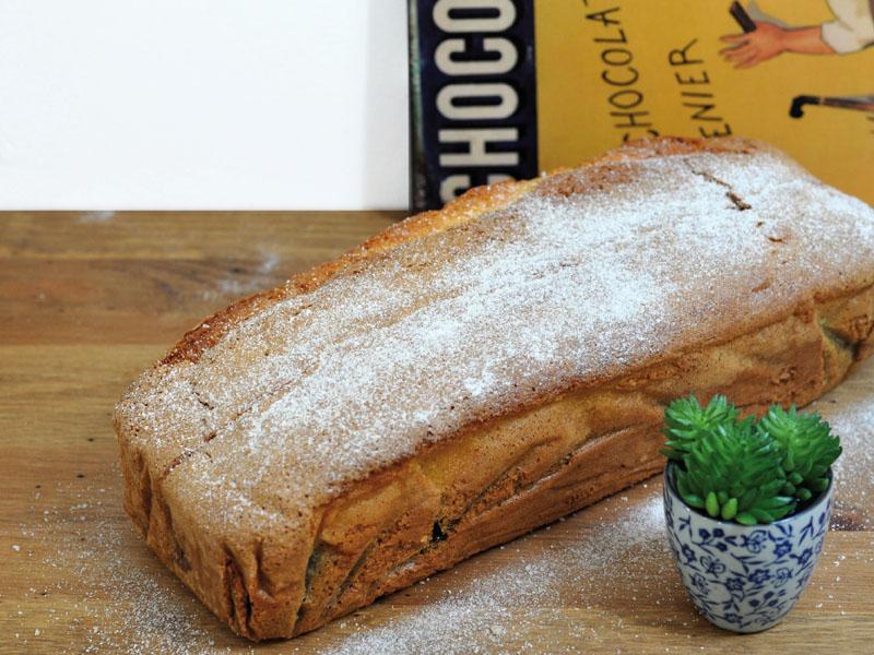 Cake Bicolore : Vanille & Chocolat