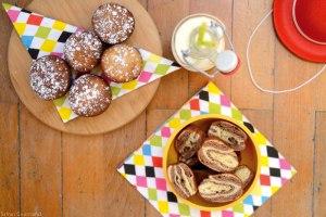 Beignets Marbrés [Vanille & Chocolat]