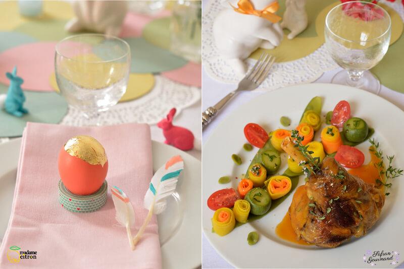 Souris d'Agneau Confites aux Légumes