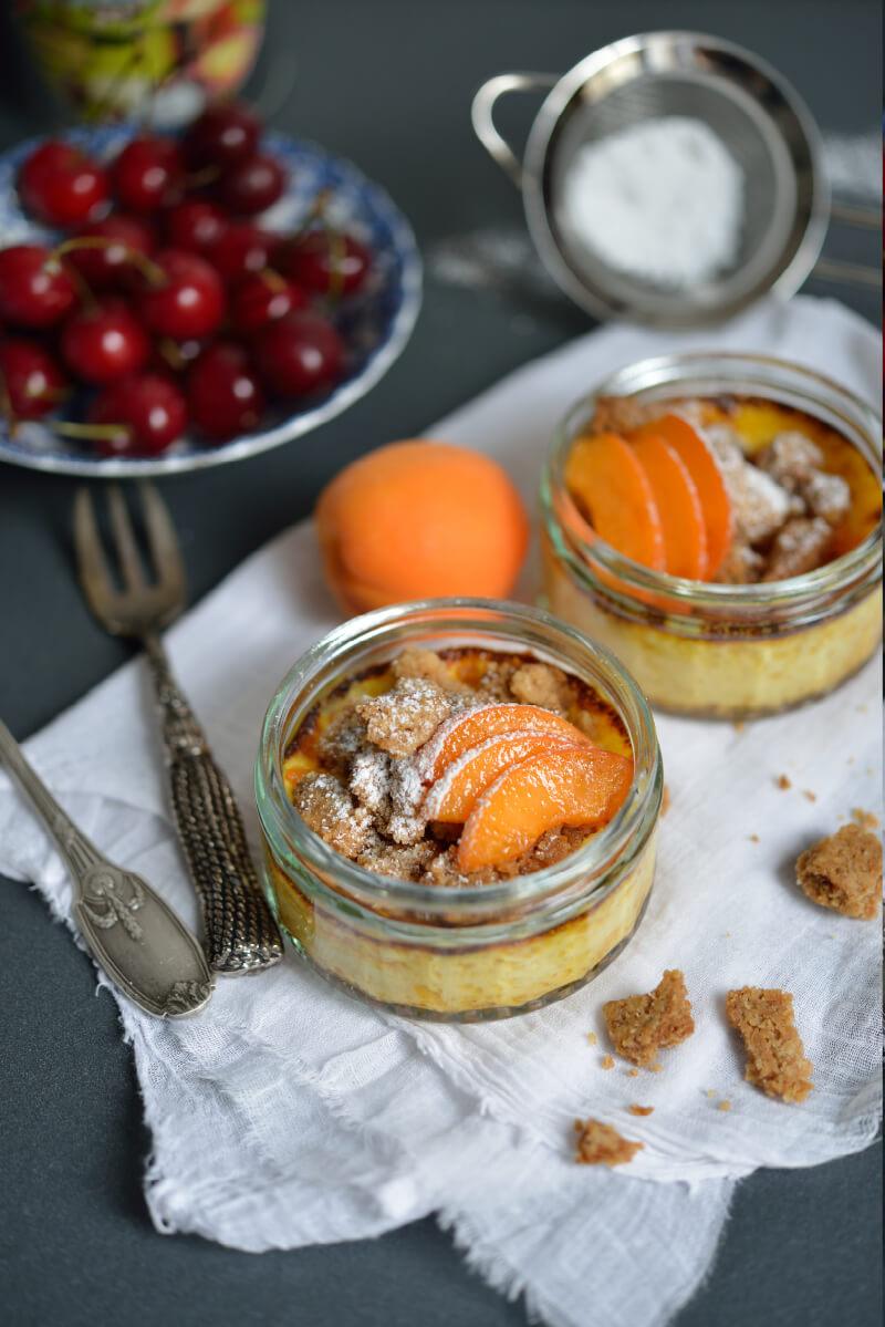 Flan aux Abricots & Spéculoos Maison