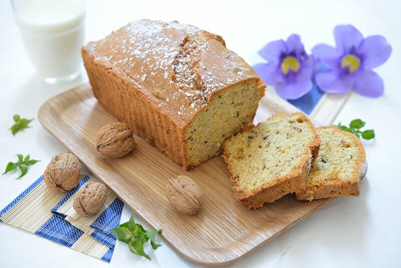 Cake au Gingembre & Noix