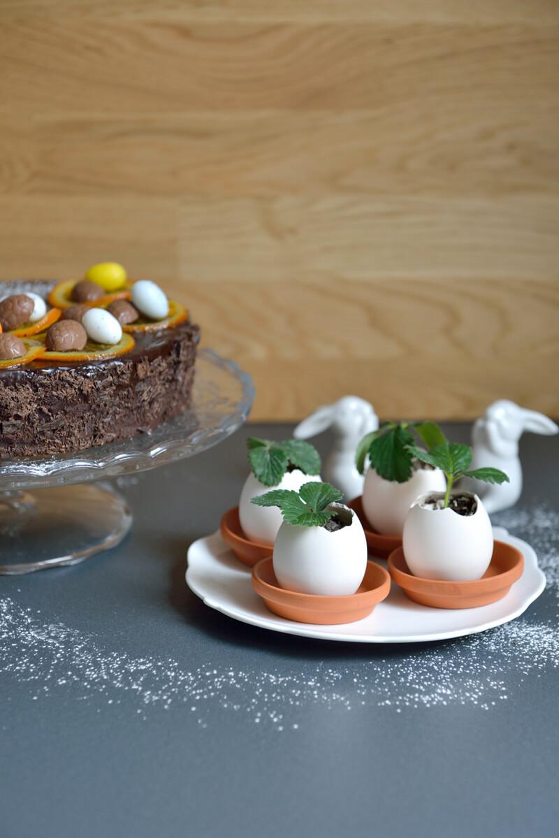 Gâteau à l'Orange et Idées de Cadeaux pour Pâques