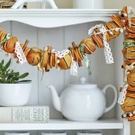 Dried Orange Decorations Garlands For Christmas Saga