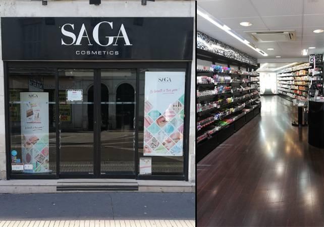 saga cosmetics tours magasin de
