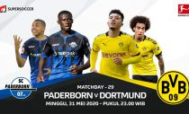 Live streaming Paderborn vs Borussia Dortmund