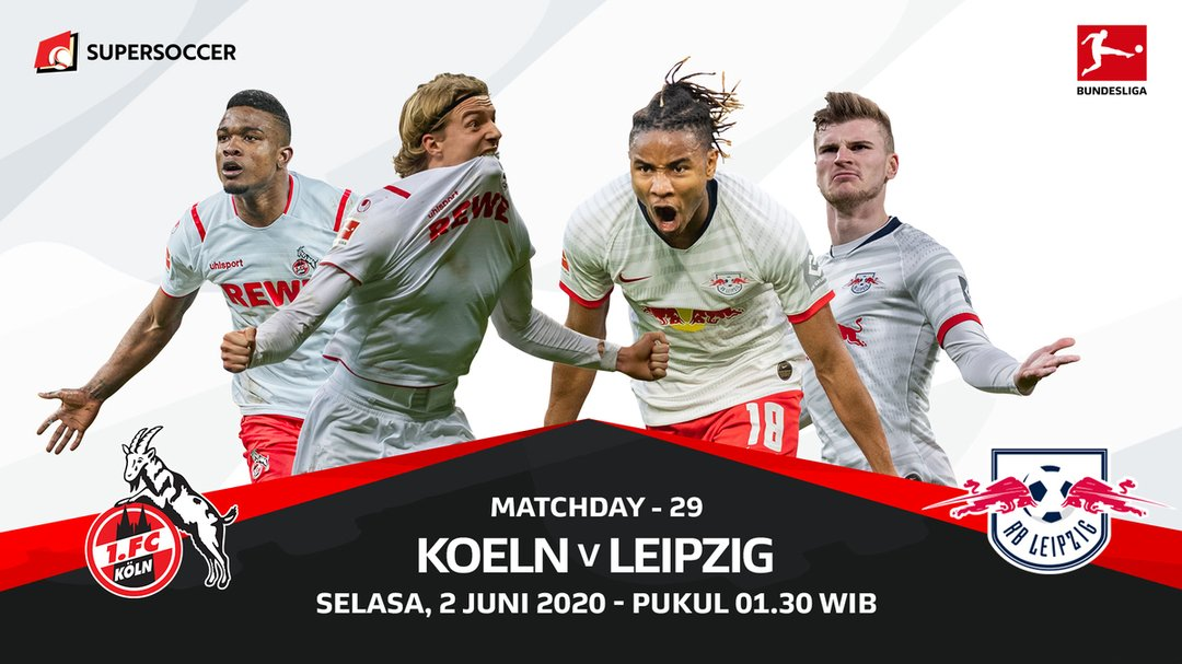 Live Streaming FC Koeln vs RB Leipzig