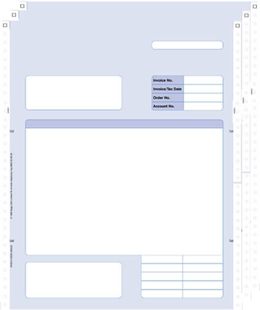 Sage Continuous Invoice 3 Part 060523