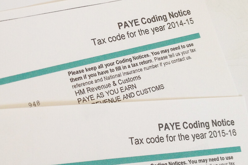 HMRC Employee PAYE code changes - Sage Accounts Solutions