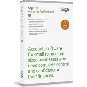 Sage 50 accounts professional box shot