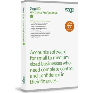 Sage 50 accounts professional box shot