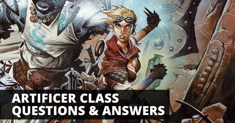 Artificer Class Questions Answers Sage Advice Dd