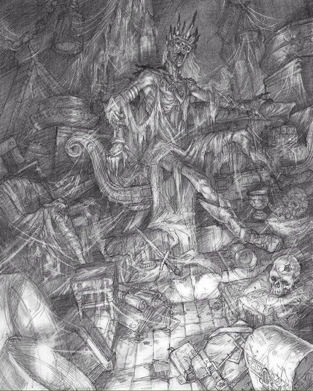 Tomb of Horrors original sketch for D&D | Sage Advice D&D