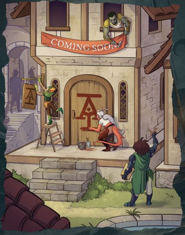 New images revealed from Acquisitions Incorporated Book! | Sage