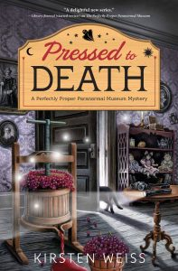 Pressed to Death Kirsten Weiss