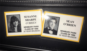 Sean O'Brien high school sweethearts