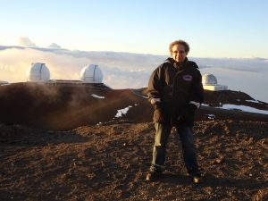 Allan Weiss On Mauna Kea