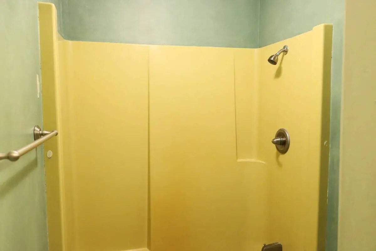 Yellow shower surround