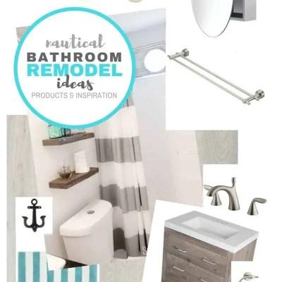 Nautical Bathroom Ideas – Planning a Bathroom Remodel on a Budget