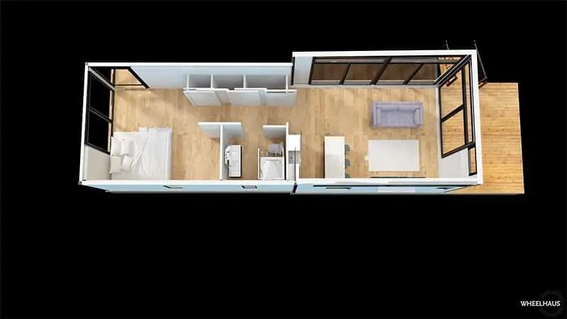 Wheelhaus lookout alternative floor plan