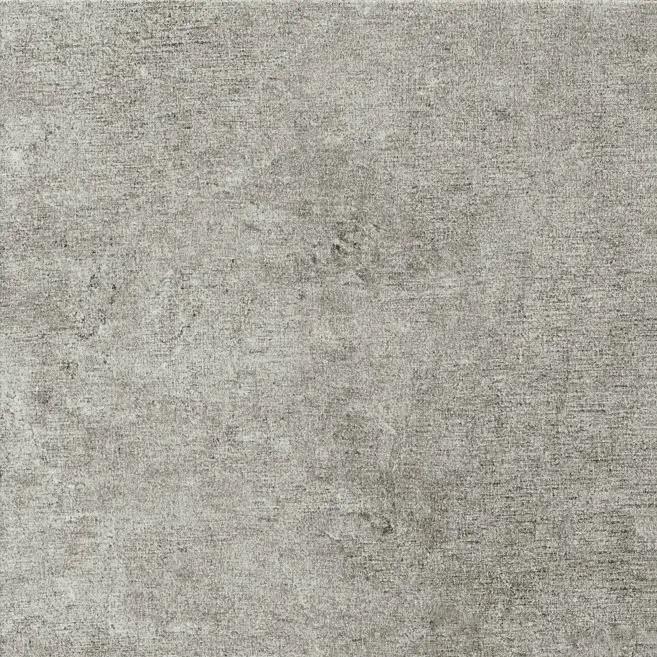 Photo of medium grey luxury vinyl tile sample