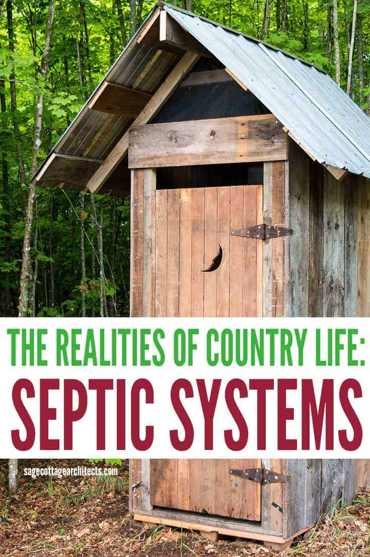 Photo collage of septic systems