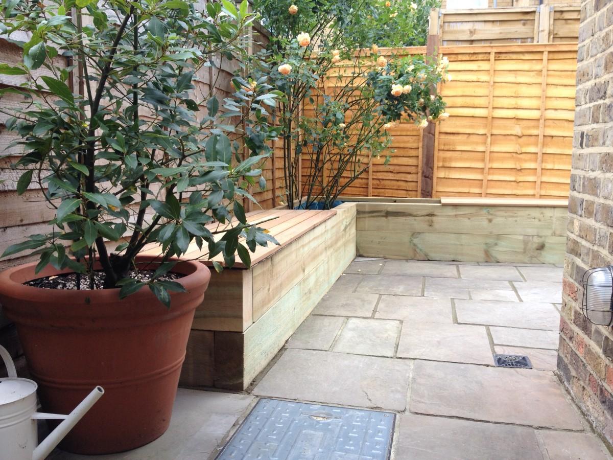 Hardwood Garden Bench
