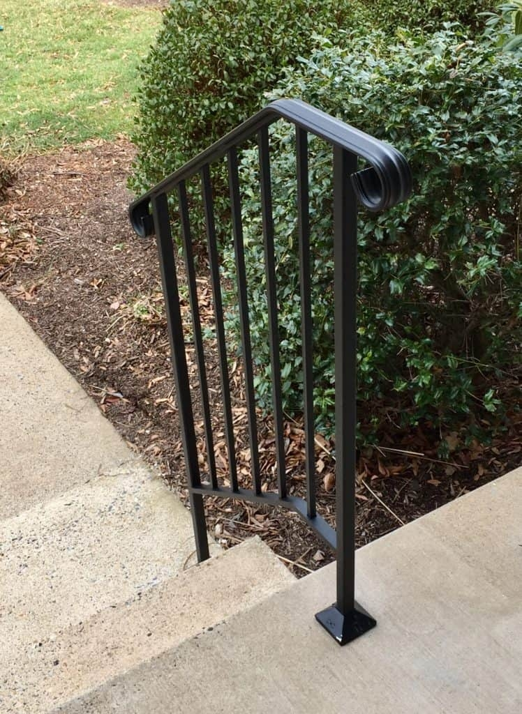Outdoor Handicap Handrails Outdoor Solutions Sage Mobility   Handicap Handrails For Stairs   Grab Bars   Deck Railing   Stainless Steel   Ada Compliant   Wheelchair Ramp